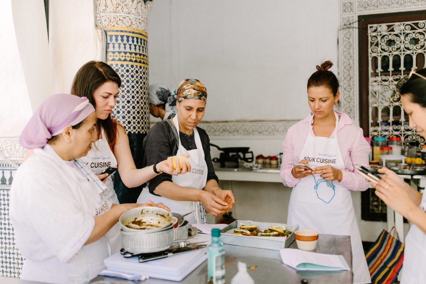 Souk cuisine cooking class Marrakech workation citytrip