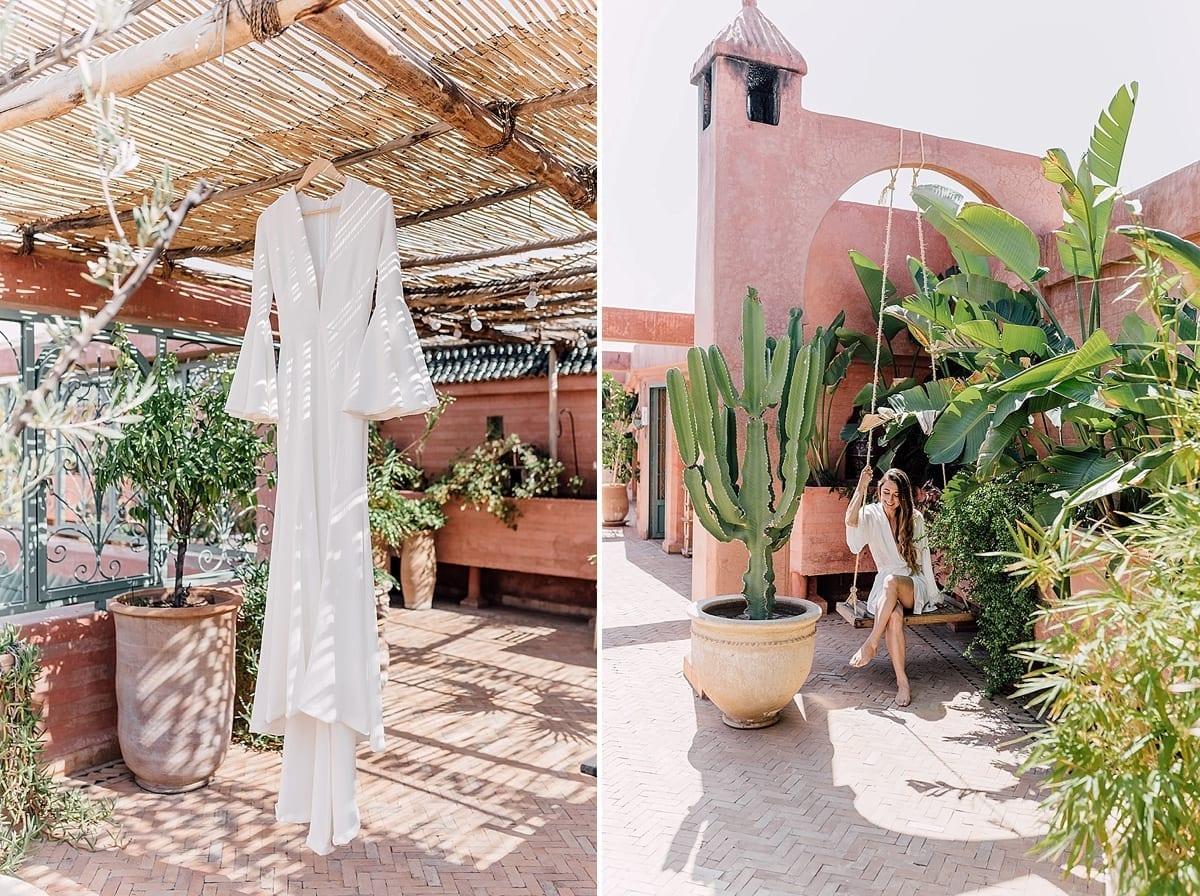 wedding marriage marrakech planner le jardin secret bride dress