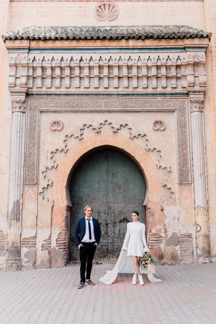 wedding marriage marrakech planner editorial medina old door