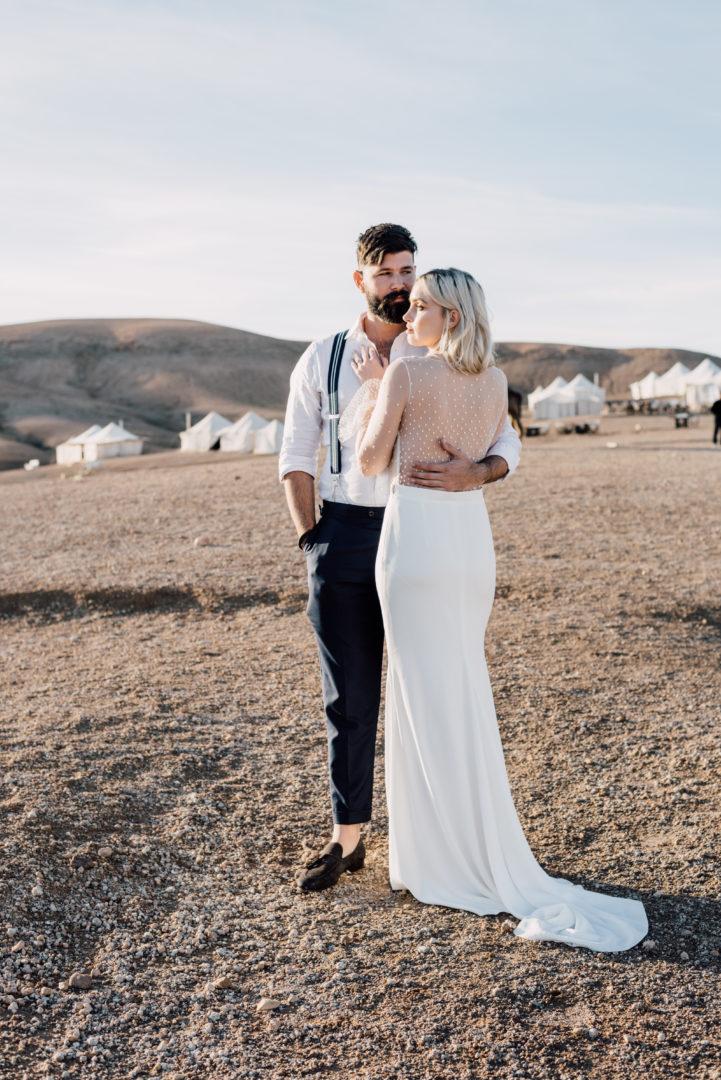 editorial campaign shoot marrakech fashion bridal fotoshoot wedding trouwen desert agafay morocco