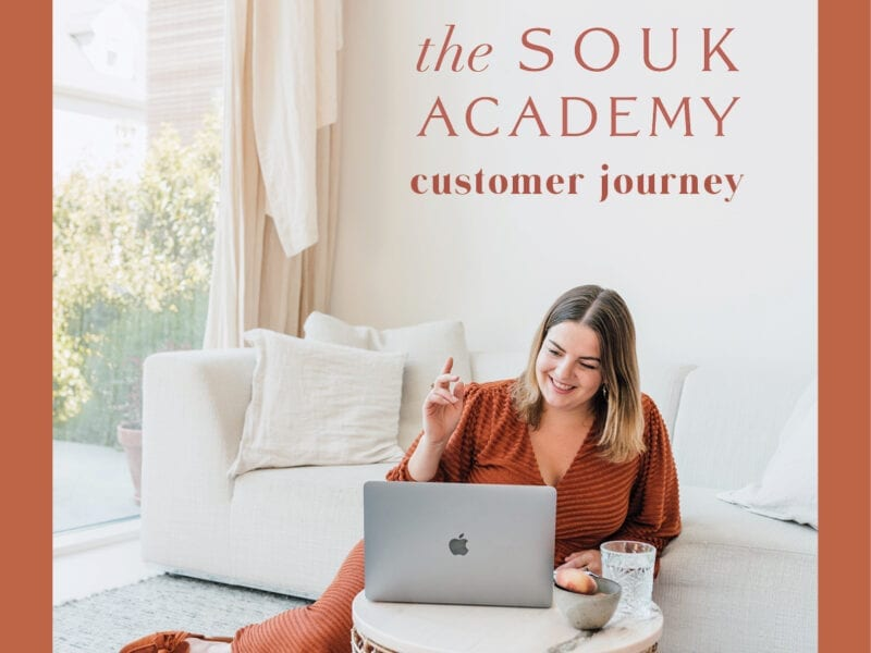 The Souk Academy customer journey