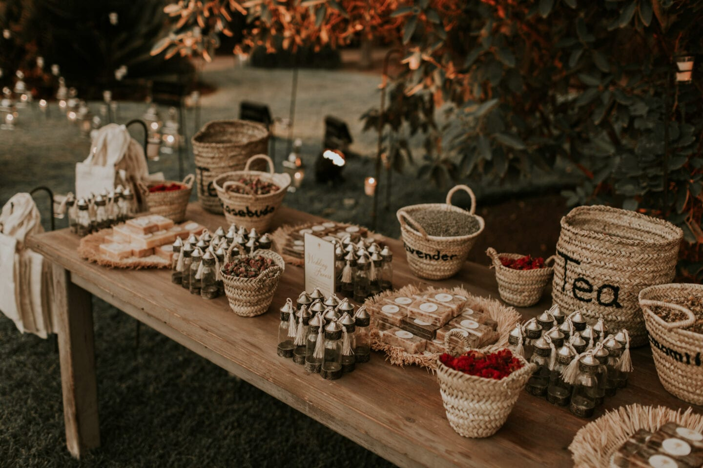 Marrakech wedding favours favors wedding planner Morocco